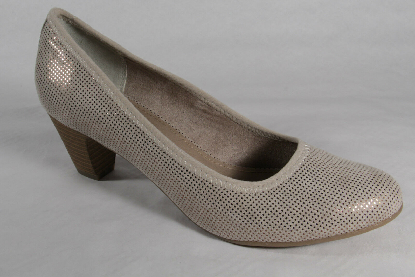 S.Oliver Court shoes Slipper shoes Beige New New New 6785dc