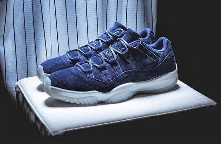 Nike Air Jordan 11 Low QS Derek Jeter Jeter Jeter Re2pect Size 9.5 DS Brand New d54c4d