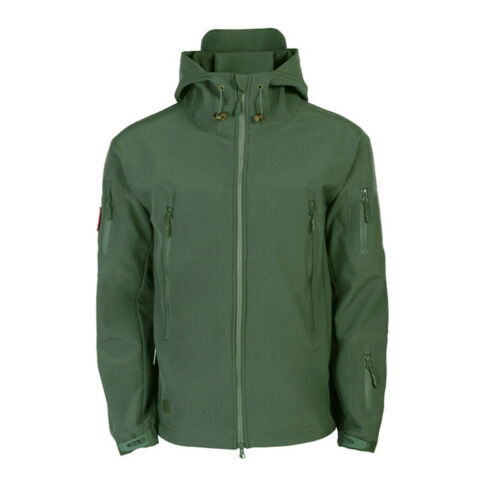 Waterproof Winter Mens Outdoor Jacket Tactical Coat Soft Shell Military Jacke s.