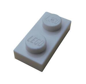 Lego-50-Stueck-Platte-1x2-weiss-3023-Neu-weisse-Platten-white-Plate-City-Basics