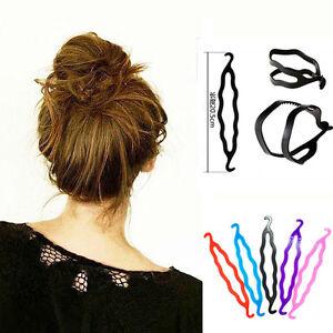 Details Zu Frisurenhilfe Frisuren Styler Haarhilfe Haarknoten Ballerina Dutt Topsy Tails