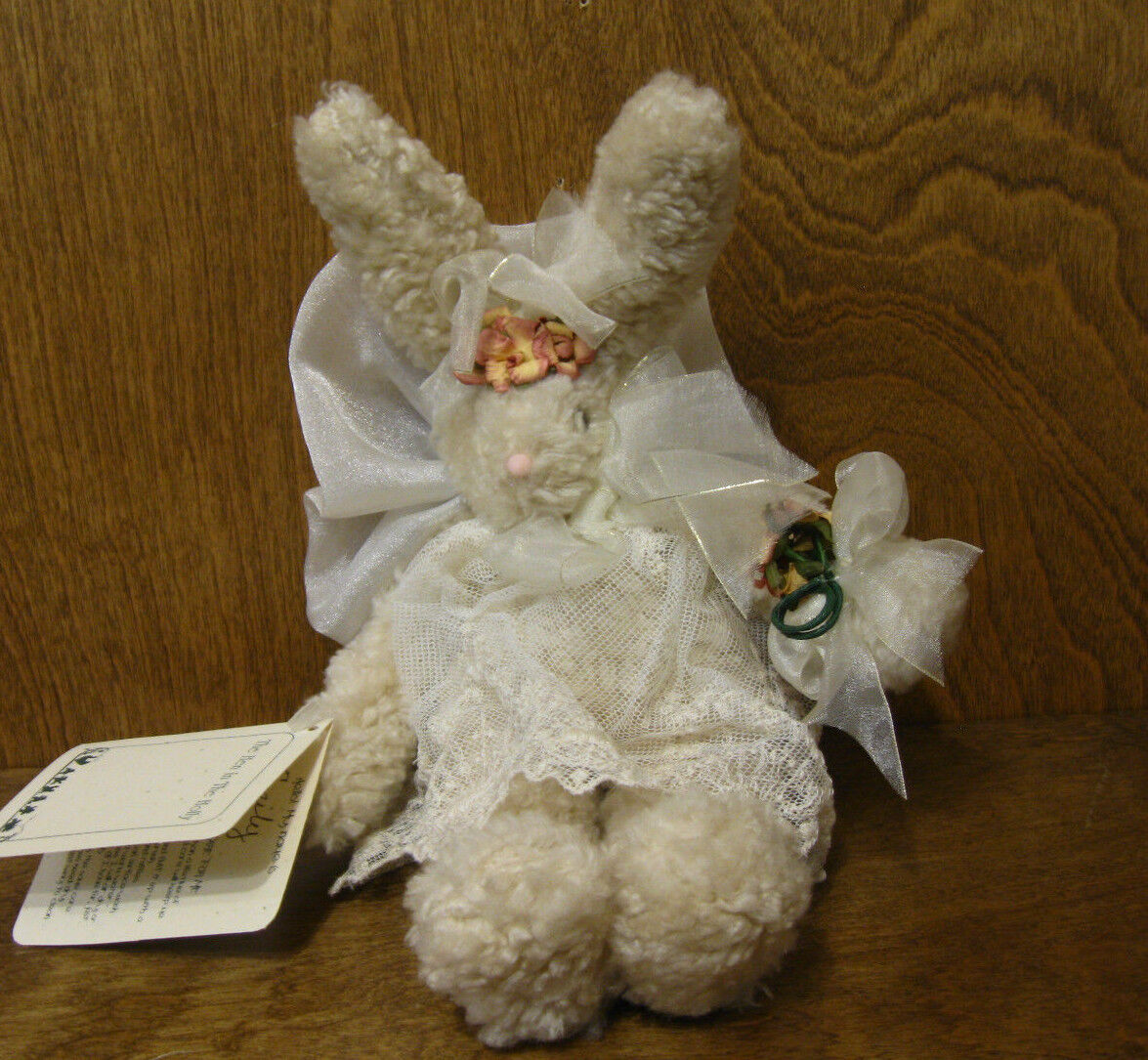 Hen In The Holly EMILY The RABBIT with WINGS, NEW Tags, MADE in the USA, 9
