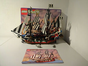 Aller-Lego-Systeme-6286-SKULL-039-S-Eye-Schooner-avec-Emballage-amp-Ba-100-Complet