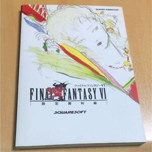 Final-Fantasy-VI-GAME-Guide-BOOK-GAME-BOOK-SNES-SFC-SUPER-FAMICOM