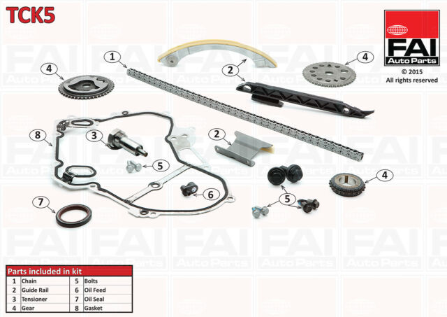 ALFA ROMEO 159 1.9 JTS 2.2 JTS TIMING CHAIN KIT TCK5 939 A6.000 939 A5.000 2006-