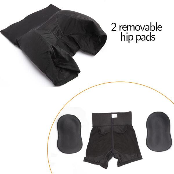 Damen Push Up Po H?schen Slip Unterhose Mieder Butt Lifter gepolstert Shaper BS