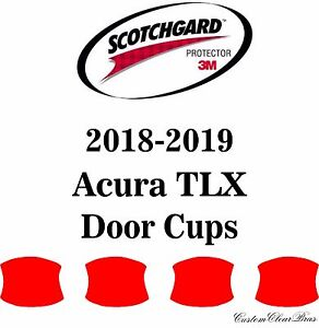 Details About 3m Scotchgard Paint Protection Film Clear Bra Pre Cut Kit 2018 2019 Acura Tlx