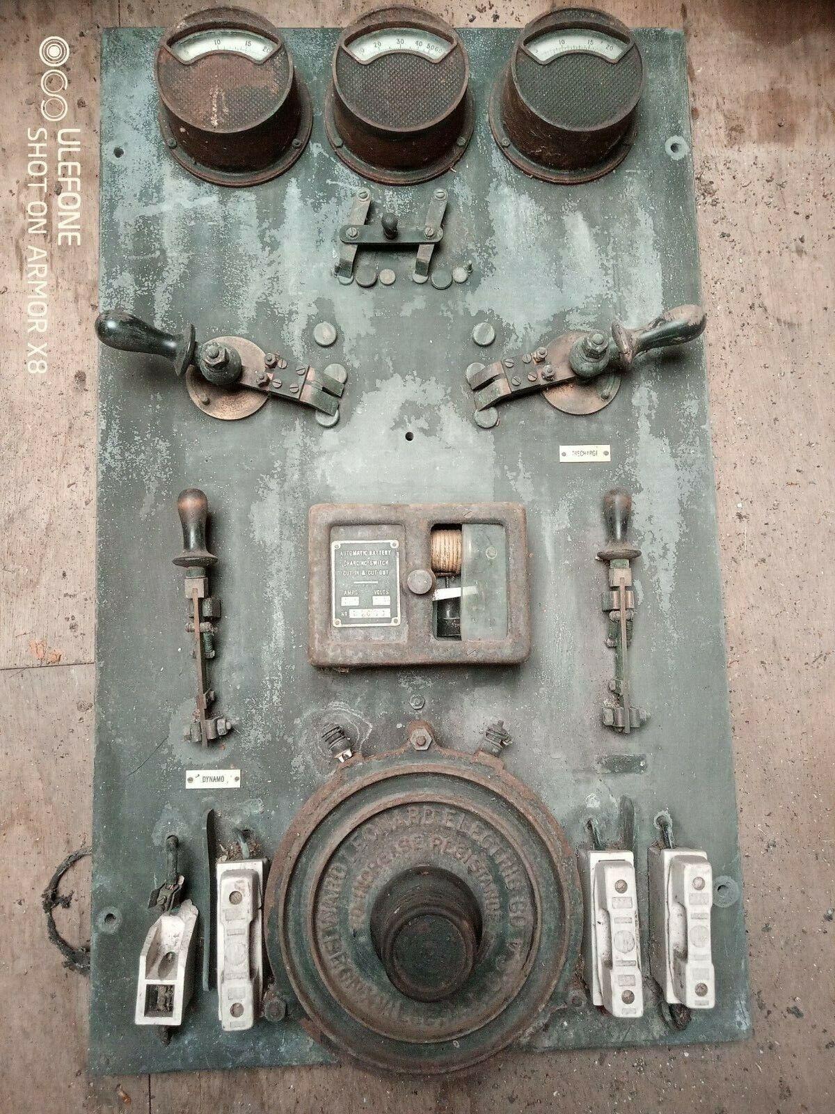 Early Slate Control Panel