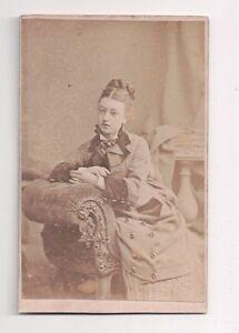 Vintage-CDV-Victorian-Society-Leader-A-L-Henderson-Photo-London