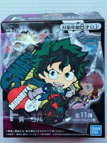 Mon héros Academia ichibankuji caoutchouc Charme Ver Smash Rising Combat Heros feat