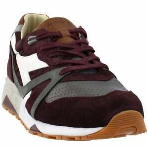 Diadora-N9000-H-Ita-Mens-Sneakers-Shoes-Casual-Burgundy