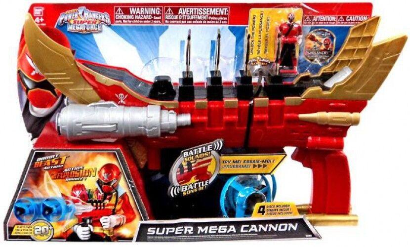 Power rangers super megaforce super - mega - kanone rollenspiel.