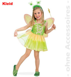 c4d79901788 Details about Fairy Feenkleid Forest Fairy Kids Costume Flower Fairy  Tinkerbell Fairy Tail