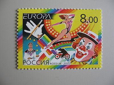 Pfrs/mnh/** Einzellwerte Russia Offen Z3 2002 Cept-europa