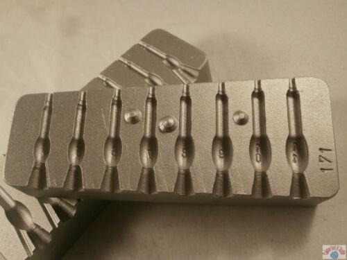LAMPADINA GOCCIA rapido muffa 4-11 G utilizza #8 o #8 CANNA rapida caduta SWIVELS. LH RH