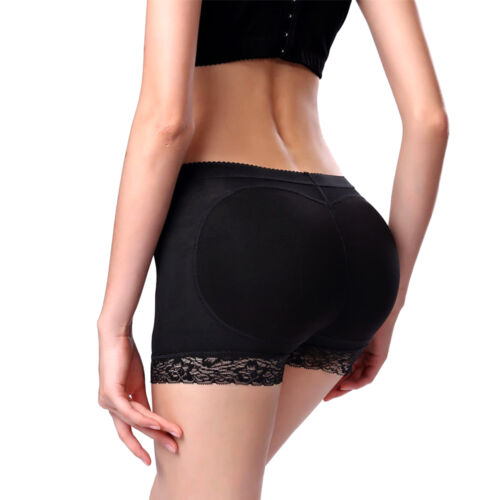 2019 Womens Lace Padded Seamless Butt HipShaper Seamless Fake Ass Butt Lifter