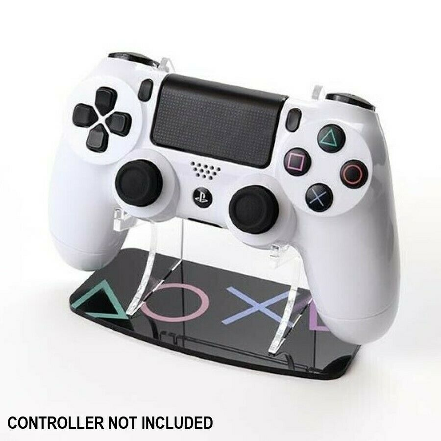 PlayStation Buttons PS4 Controller Display Stand - Printed Acrylic Pad Holder
