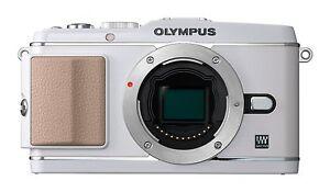 Olympus-PEN-E-P3-APPAREIL-PHOTO-COMPACT-SYSTEME-Blanc-Corps