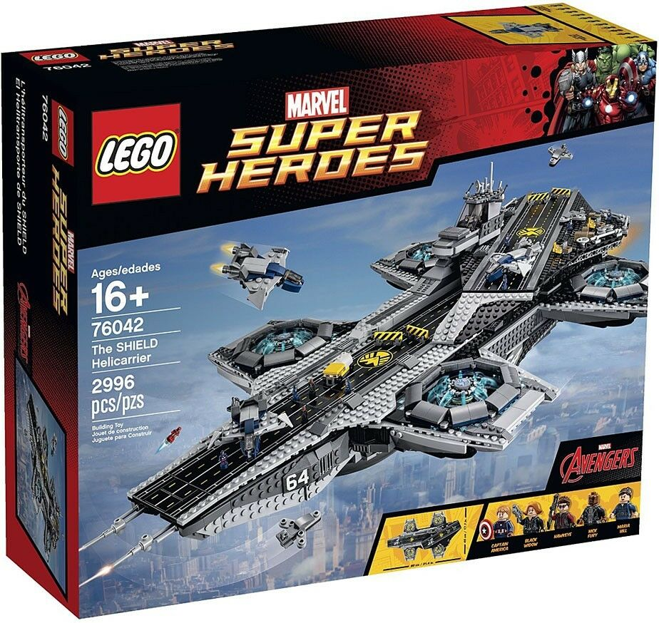 LEGO Marvel Super Heroes Avengers The SHIELD Helicarrier Exclusive Set  76042