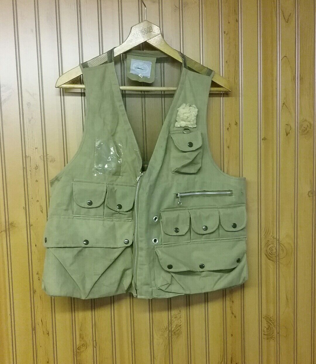 Vintage Weatherproof Spin Fly  Canvas FLY FISHING Vests Size Large  cheap store