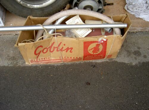 Vintage Rare Goblin Vacuum Cleaner Hoover