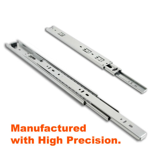 """Side Mount Full Extension Ball Bearing Drawer Slides 10/"""" to 36/"""" High-Quality"""