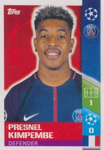 Champions League 17//18 Presnel Kimpembe Sticker 259 Paris Saint-Germain