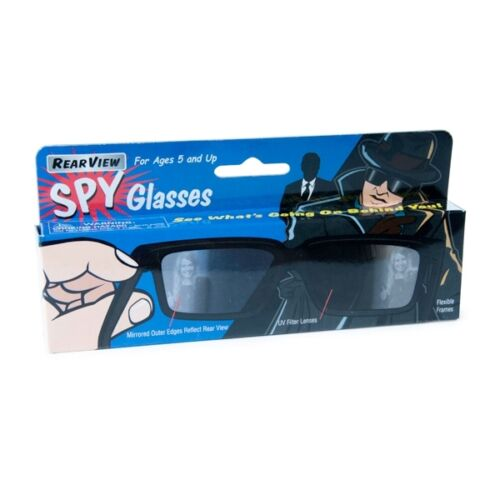 REAR VIEW SPY GLASSES FU7280 DD SEE BEHIND YOU EYES IN THE BACK OF YOUR HEAD