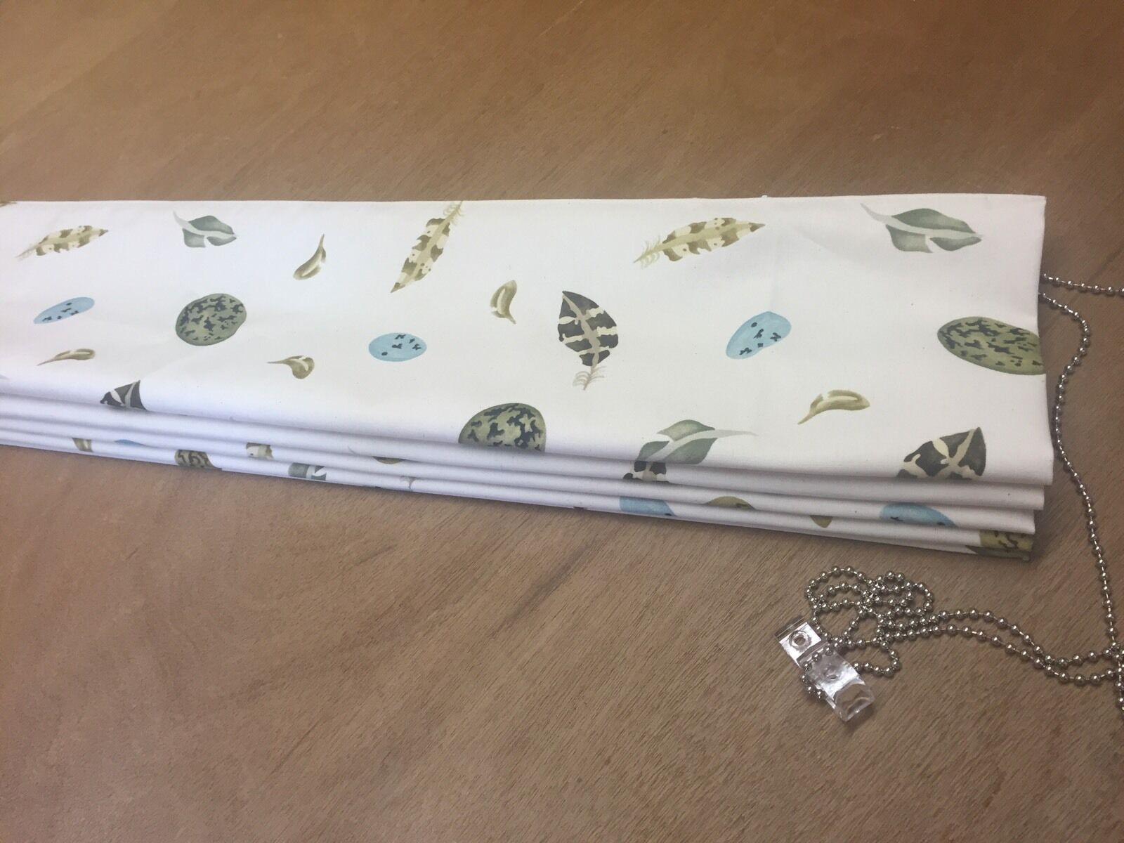 Emma Bridgewater Egg & Feather 223437 Roman Blind Made To Measure,All Cols Avail