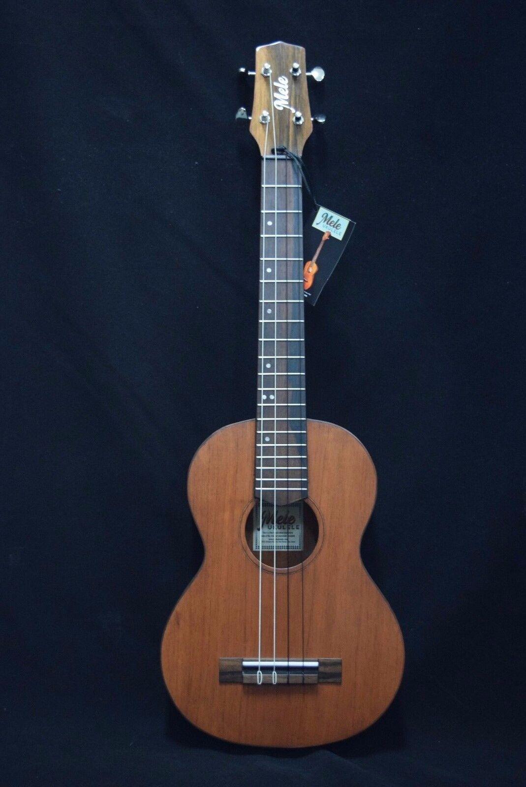 Mele Ukulele Handmade Mahogany Baritone 4 String