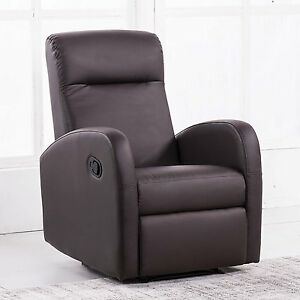 Sill n reclinable c modo sillon relax moderno color chocolate home ebay - Sillon relax moderno ...