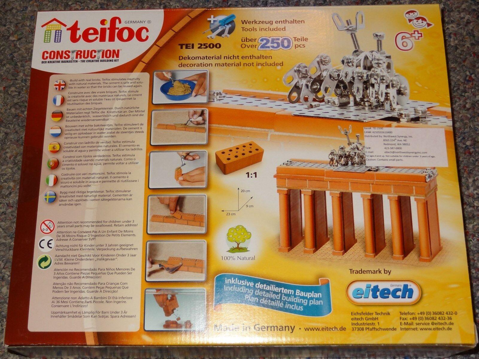 Eitech Teifoc Brandenburger Tor Berlin Steinbaukasten TEI2500