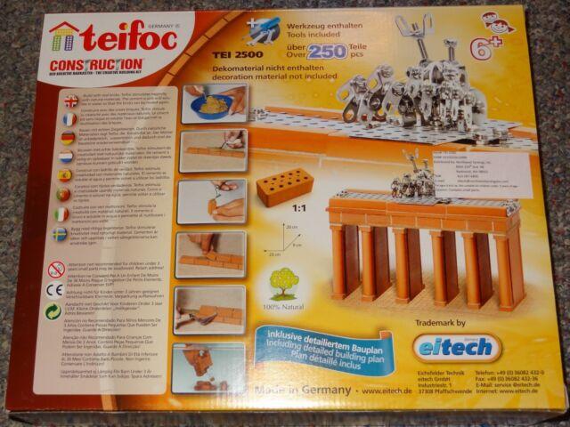 Brandenburg Gate Teifoc TEI2500 Brick Construction Building Toy Model Mason