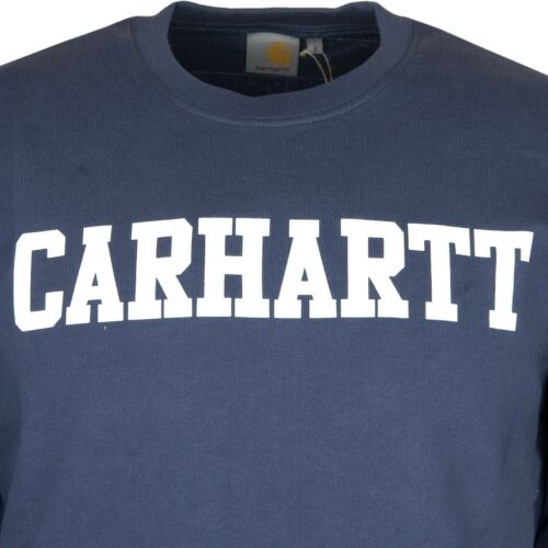 Homme Pull M Terry Wip Carhartt Sweat College Gr Bleu Crew French Blanc PzYqOngw