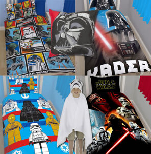 913db7b94d7 New Official Star Wars Duvet Cover Force Cartoon Character Kid ...
