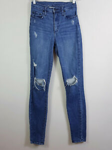 NOBODY-Womens-Cult-Skinny-Distressed-Jeans-RRP-249-Size-AU-8-or-US-26