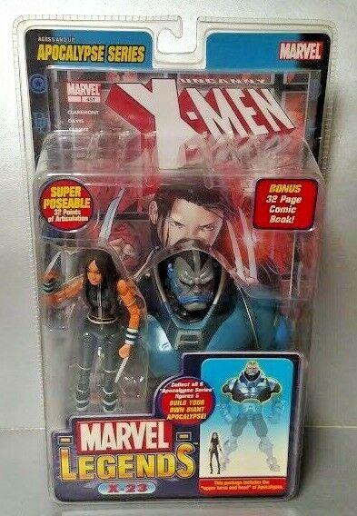 Marvel Legends  12 APOCALYPSE SERIES  6  X-23 (Noir Costume) neuf scellé rare
