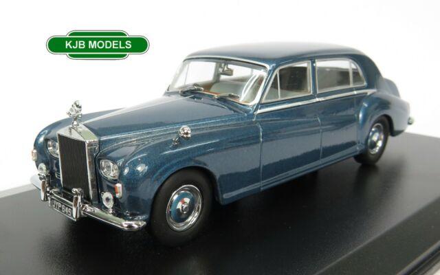 BNIB O GAUGE OXFORD 1:43 43RRP5003 Rolls Royce Phantom V James Young Windsor Blu