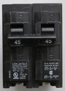 New SIEMENS 2 pole 45 A  Circuit  Breaker Q245