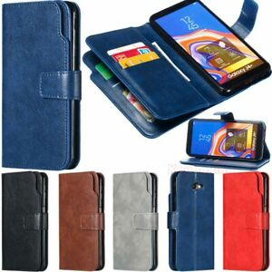 For-Samsung-Galaxy-S10-J3-J4-J5-J7-J6-Plus-Wallet-Flip-Leather-Phone-Case-Cover
