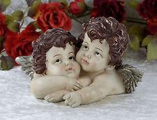 Engel Engelsfigur Schutzengel Cupido Dekoration Putte Barock Liebesengel antik