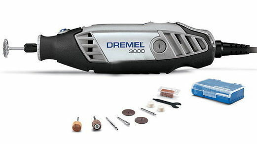 Dremel Rotary Tool with 10 Accessories Kit 3000-N 10 Variable Speed 220V Work
