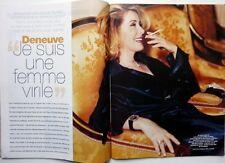 Mag 2004: CATHERINE DENEUVE_SYLVIE TESTUD enceinte_SALVATORE ADAMO_DAN BROWN