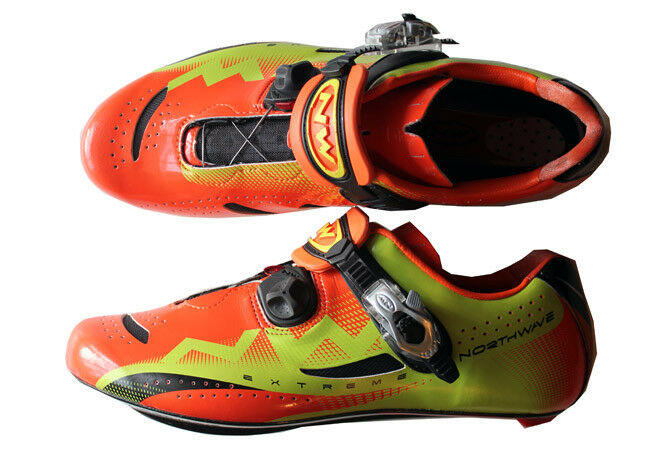 Northwave Extreme Extreme Northwave Tech SBS Carbon Road schuhe Orange Look Speedplay EU 42 US 9.5 a559c5