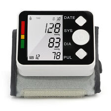 LCD Digital Wrist Blood Pressure Monitor Heart Rate Beat Pulse Meter Health Care