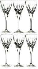 RCR CRISTALLO TRIX Bianco Bicchieri da Vino Set di 6 VINO CRISTALLO scaturite Occhiali