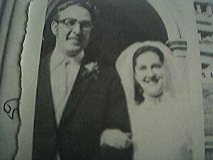 ephemera-1976-kent-wedding-small-picture-mr-j-robinson-miss-d-west