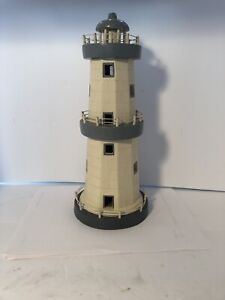 """Wooden Fish Lighthouse Nautical Themed Rooms Decor Lighthouse Home Decor 12/""""H"""