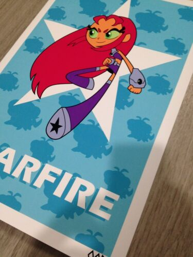 "Teen Titans GO Starfire 24/""x36/""poster print"