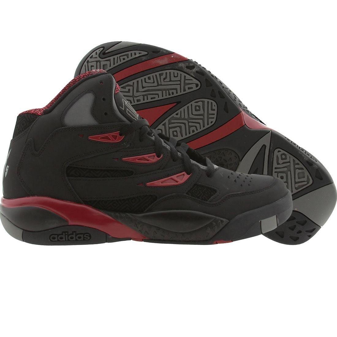Adidas Adidas Adidas mutombo 2 c75206 nero & bordeaux basket uomini sz 7,5   12 | Conveniente  bbbfa0